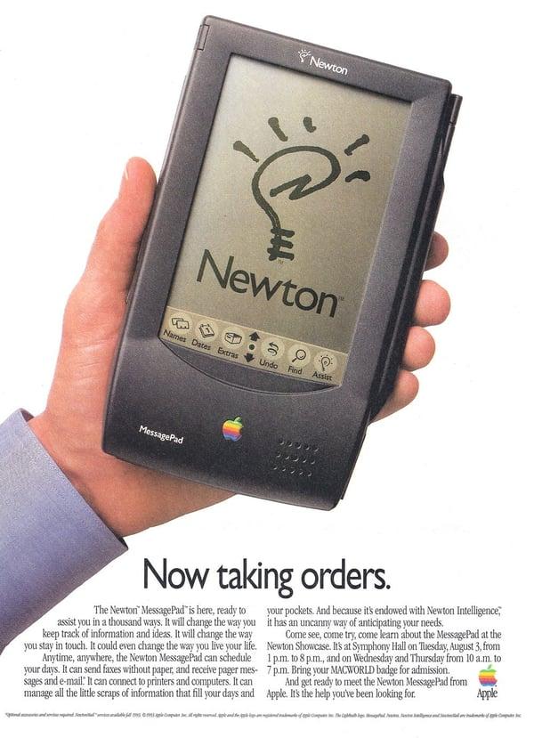 90s Apple Newton