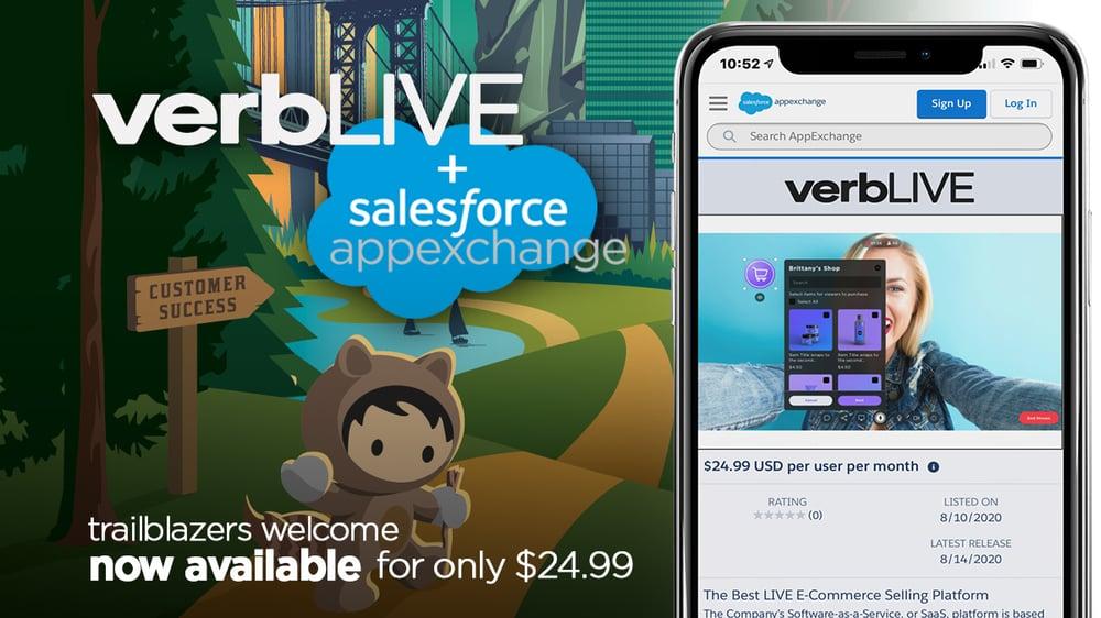 VerbLive - Salesforce App Exchange - 1 - Twitter