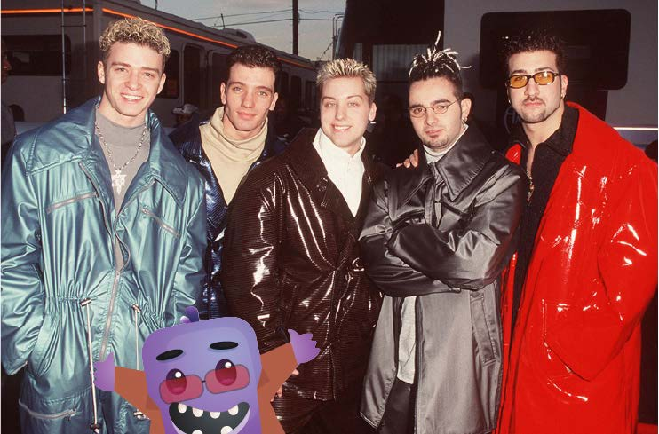 Verby with NSync early 2000s