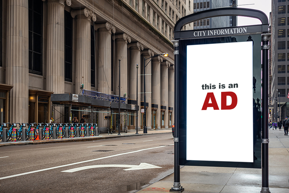 selling-ad- blank-billboard-at-bus-stop
