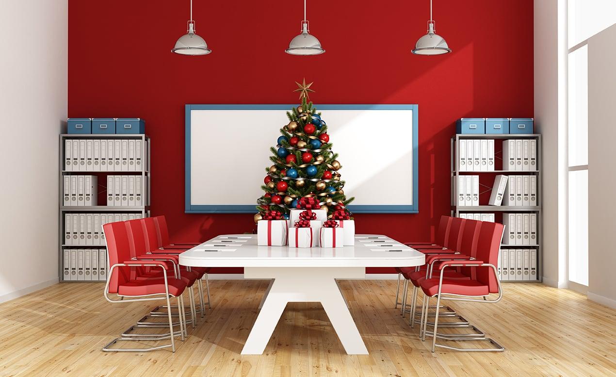 verb - Christmas Board Room